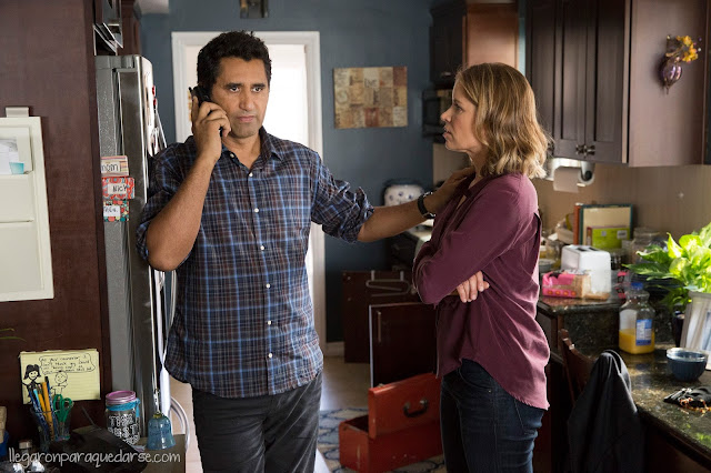 Kim Dickens como Madison y Cliff Curtis como Travis