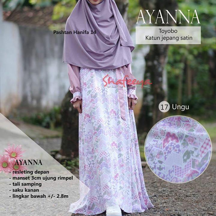 Produsen Gamis Shafeeya Hijab