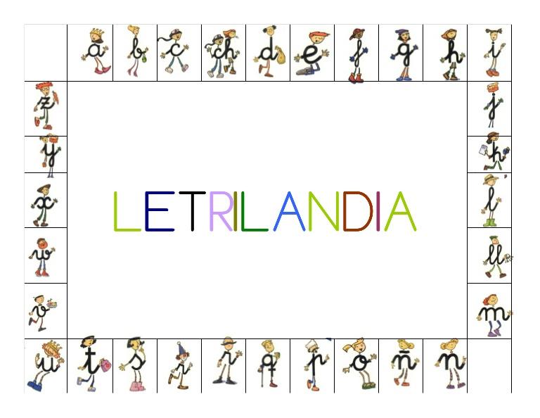 ABECEDARIO DE LETRILANDIA