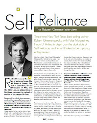 Robert Greene speaks with Hugo D. Aviles...