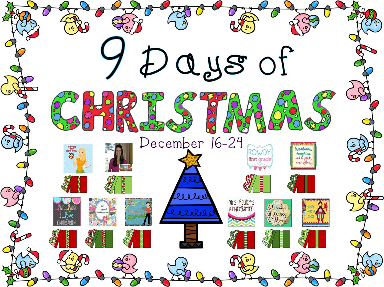 9 Days of Christmas - Mrs. Pauley\'s Kindergarten