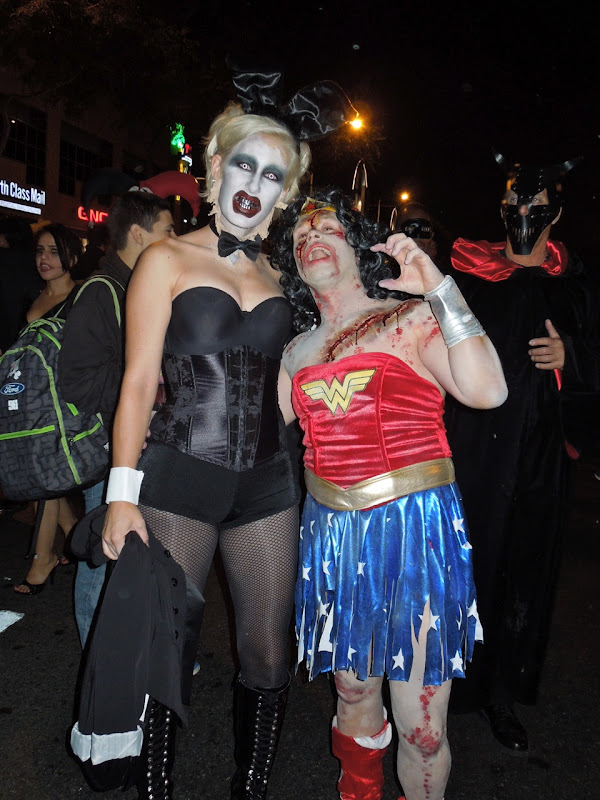 Horror bunnygirl West Hollywood Halloween Carnaval