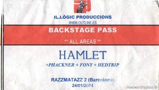 pase backstage de hamlet