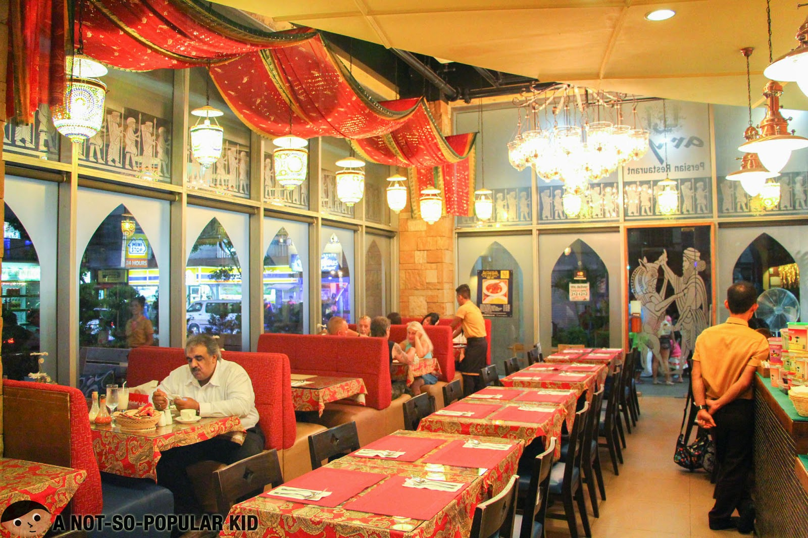 The Interior of the bigger Arya in the Robinsons Midtown Wing