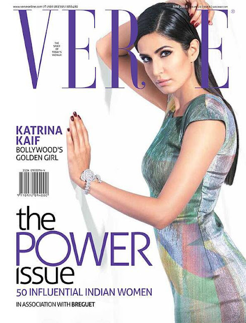Katrina Kaif on the cover of Verve June 2013 - The Power Issue!