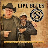Willie 'Big Eyes' Smith & Roger 'Hurricane' Wilson - Live Blues Protected By Smith & Wilson
