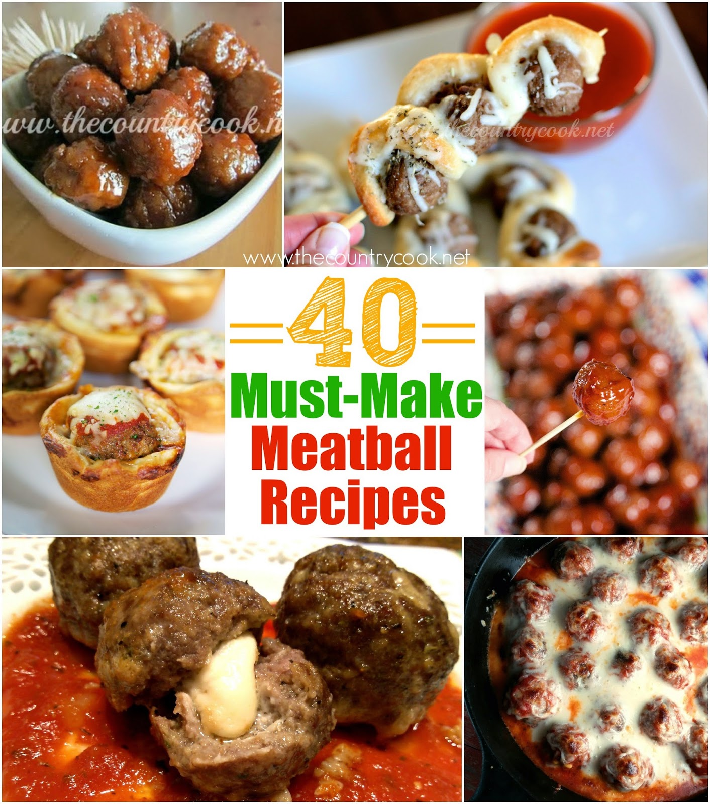 40 must make meatball recipes the country cook 40 must make meatball recipes forumfinder Gallery