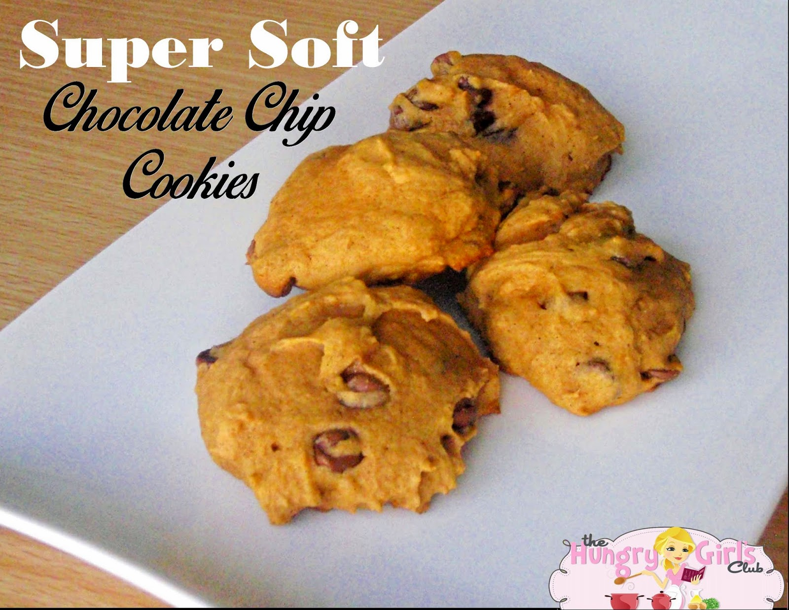 The Hungry Girl's Club: Super Soft Pumpkin Chocolate Chip Cookies
