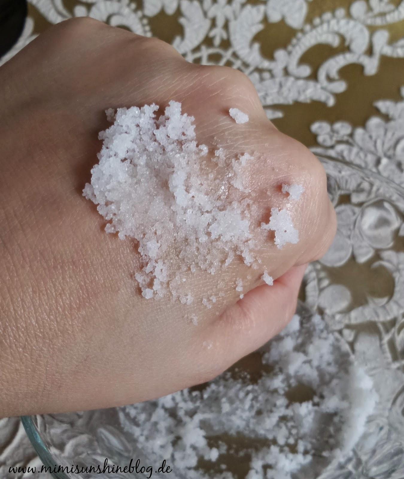 Salzpeeling