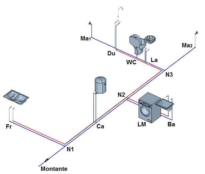 Instalaciones sanitarias sofware hidra for Instalacion hidraulica de una alberca pdf