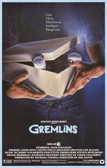 Portada película Gremlins