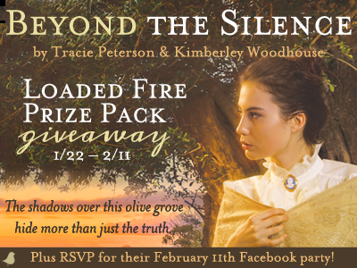 Beyond the Silence Blog Tour + Loaded Fire Giveaway thru 2/11