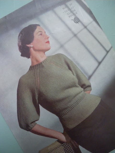 Mid-Week Inspiration Vintage Sweaters Bobbins And Bombshells