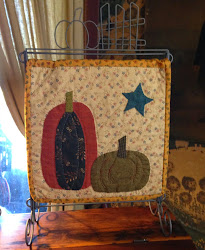Jan's latest Tutorial - How to Applique Pumpkins for hand quilting