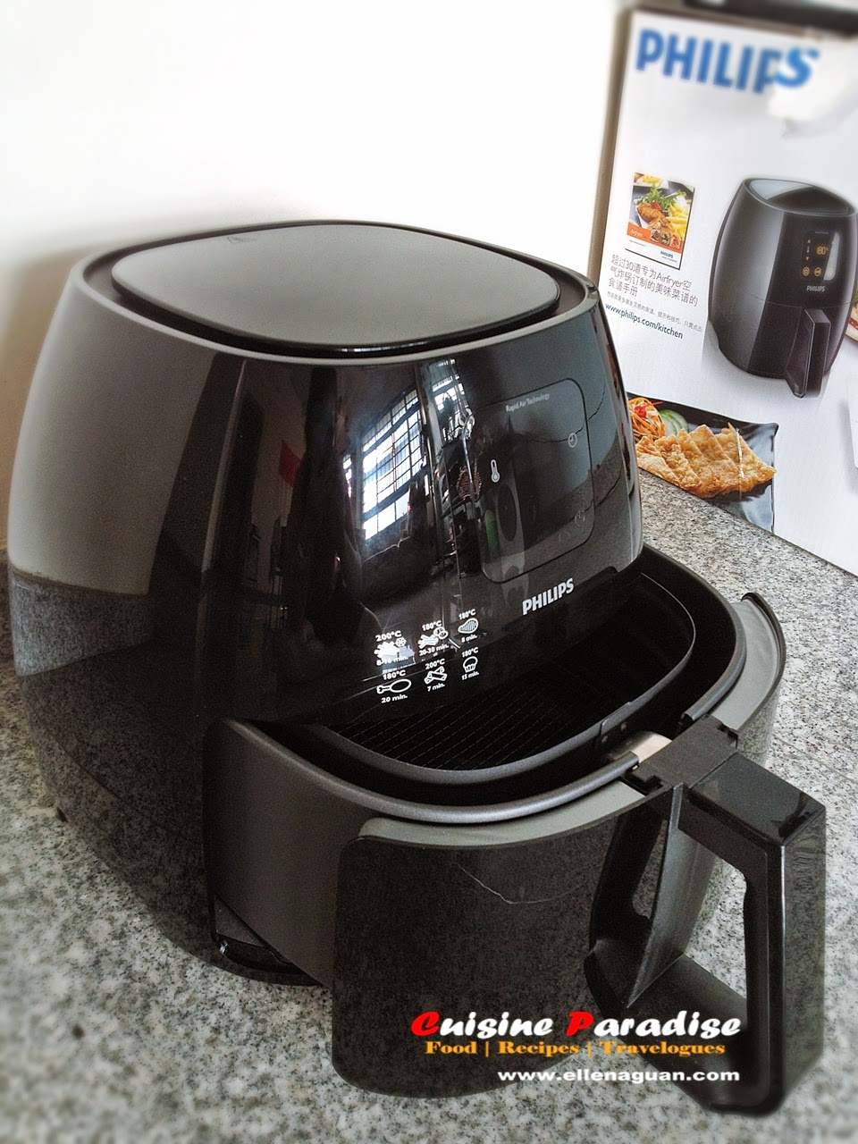 Review philips avance xl airfryer