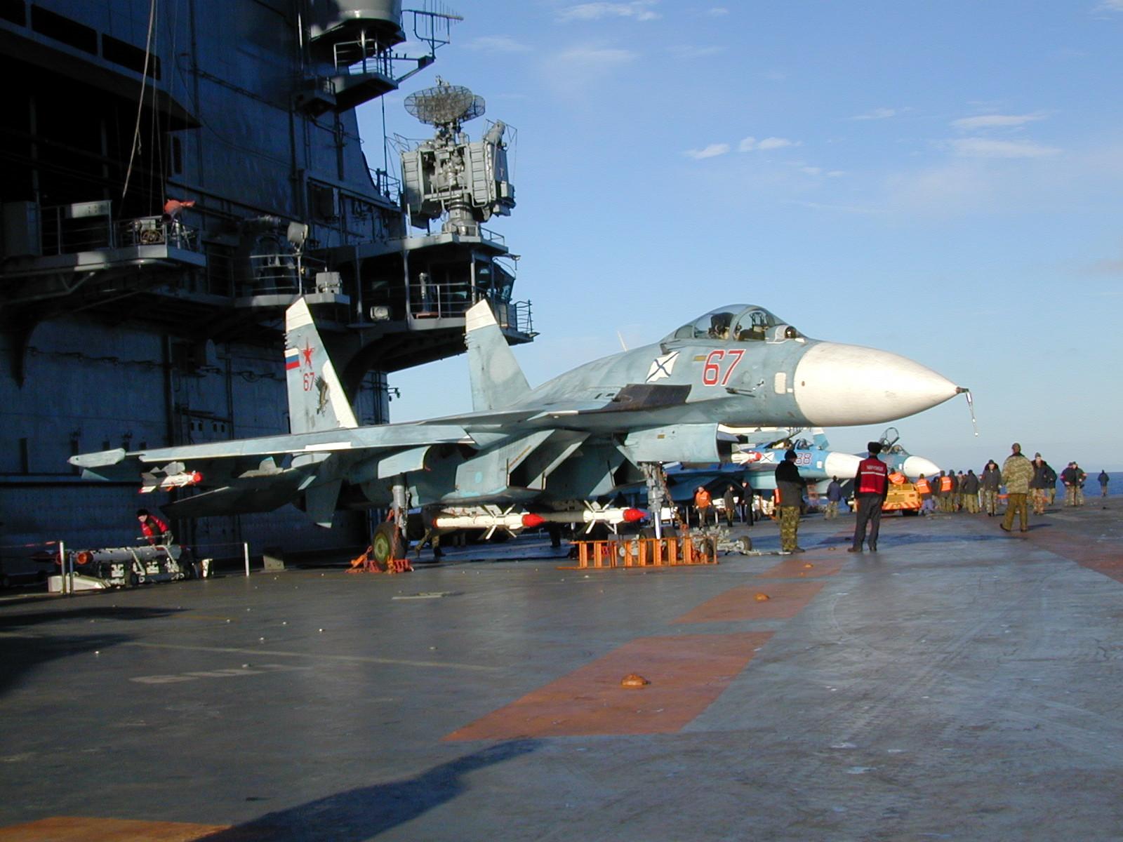 russie KUZ+SU-33+67+ARMADO+PITOT+ROTO