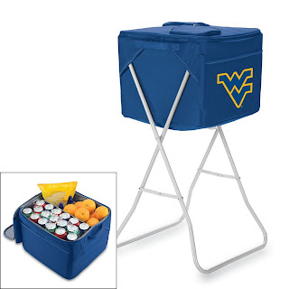 Picnic Time West Virginia Mountaineers NCAA Party Cube