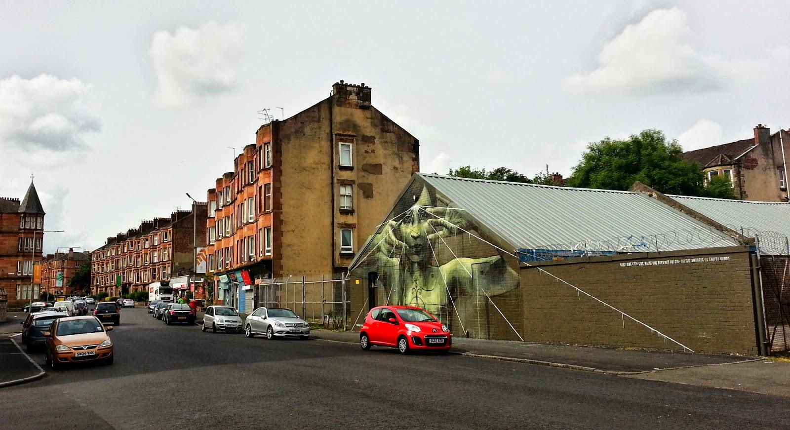 Faith 47 , recoat , Commonwealth 2014, Glasgow