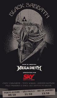 agenda shows Black Sabbath 2013