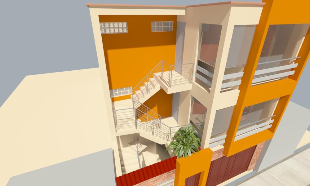 Dise o de vivienda en santa anita for Diseno locales comerciales