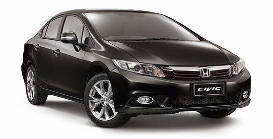 Price List Honda Civic Lengkap 2015