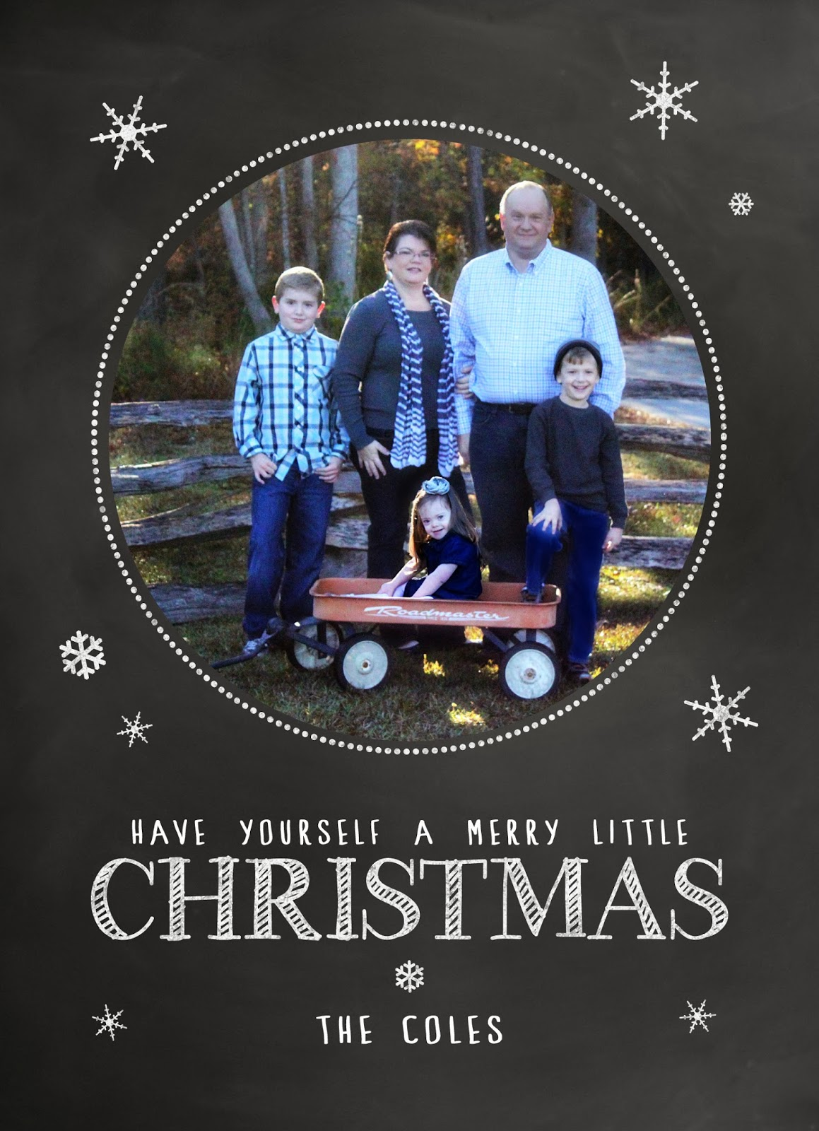 3 little Miracles: Christmas Card Carousel