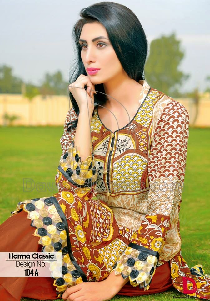 Pakistani summer lawn collection