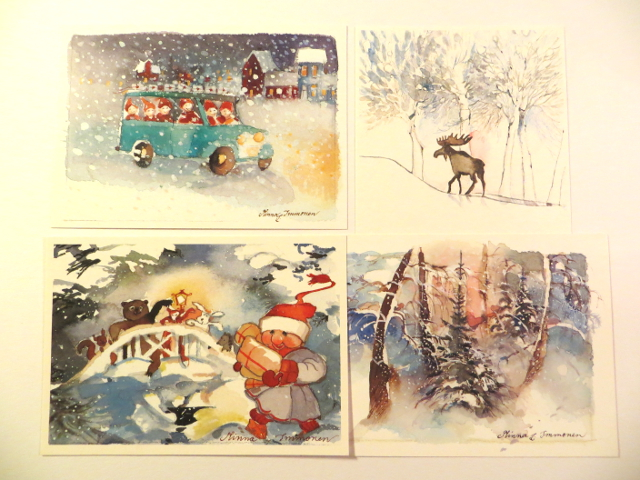 Minna Immonen Christmas cards