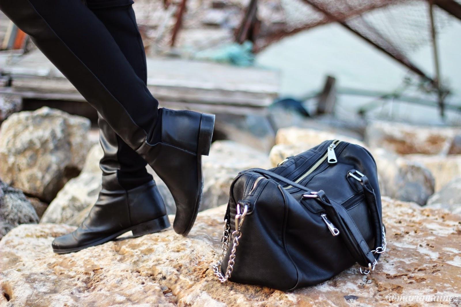 Botas Altas - Calzados Sandra - Calzado nacional - Piel- Bolso Pepe Moll