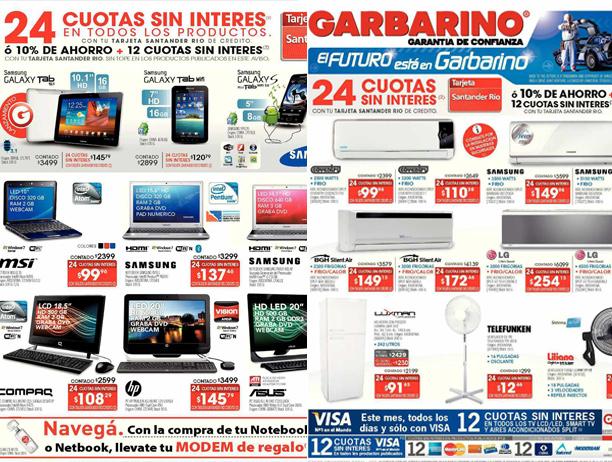 Noticias Cr Nica Tv Catalogo Garbarino 2012