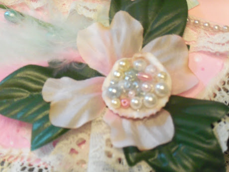 Pearl flower from The Pearl Mini Album