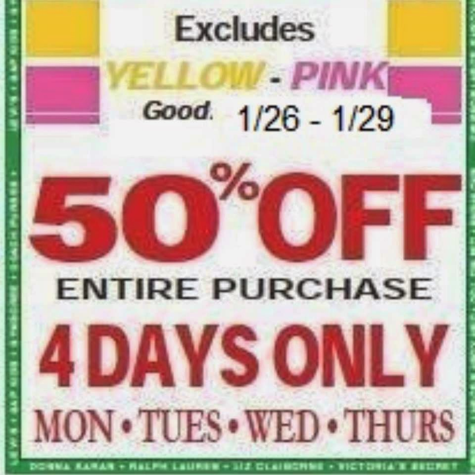 2nd ave thrift store coupons