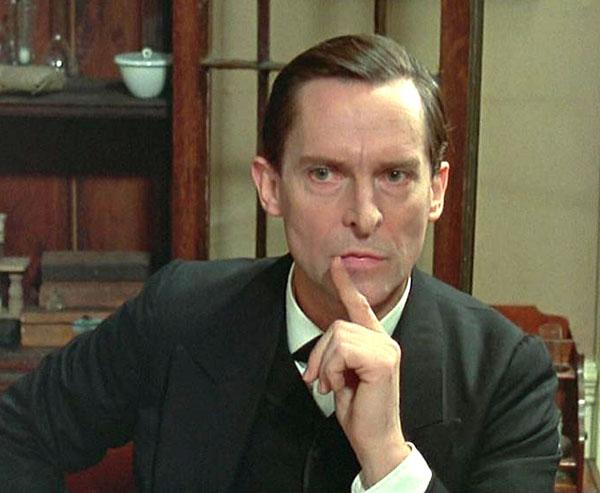 Jeremy Brett en el papel de Sherlock Holmes FUENTE