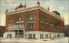 TWIN CITY POSTCARDS: The Marinette Opera House
