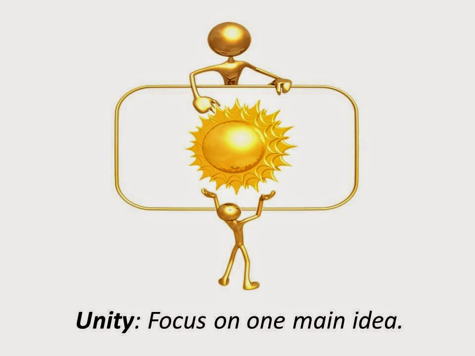 what is unity in writing