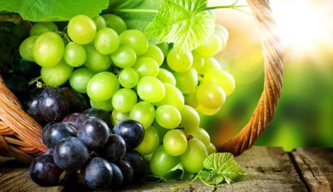 Khasiat dan Manfaat Buah Anggur Bagi Kecantikan