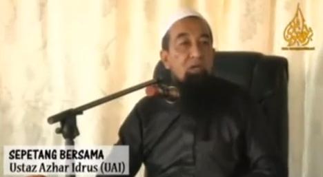 Video komen Ustaz Azhar Idrus mengenai Kehilangan MH370