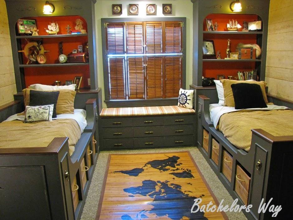 Classic shared boys bedroom ideas 940x705