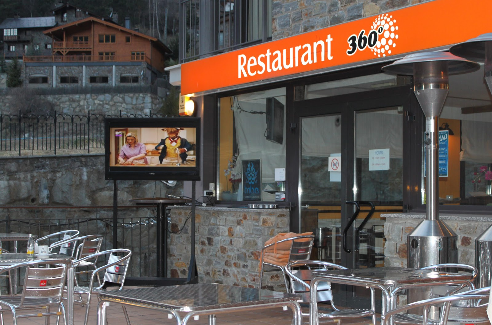 Nottingham food lovers restaurant 360 arinsal andorra for Aubergine cuisine nottingham