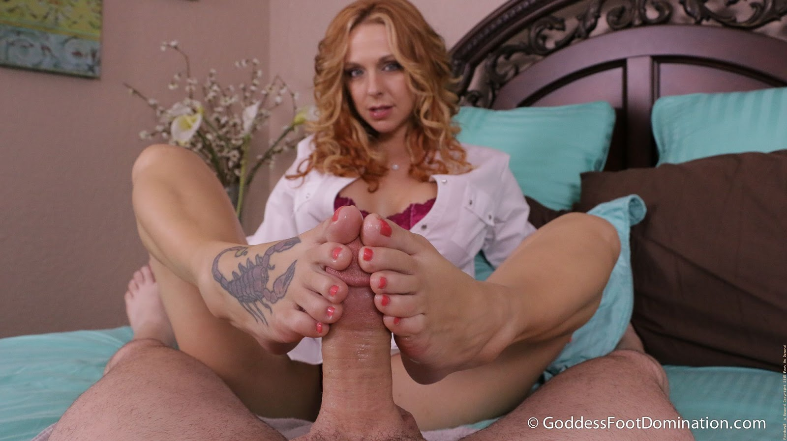 image Goddess brianna foot domination shoe story