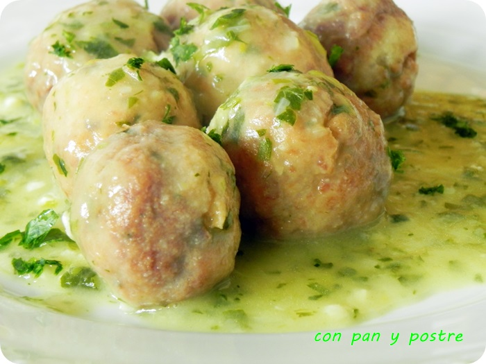 verdel en salsa verde