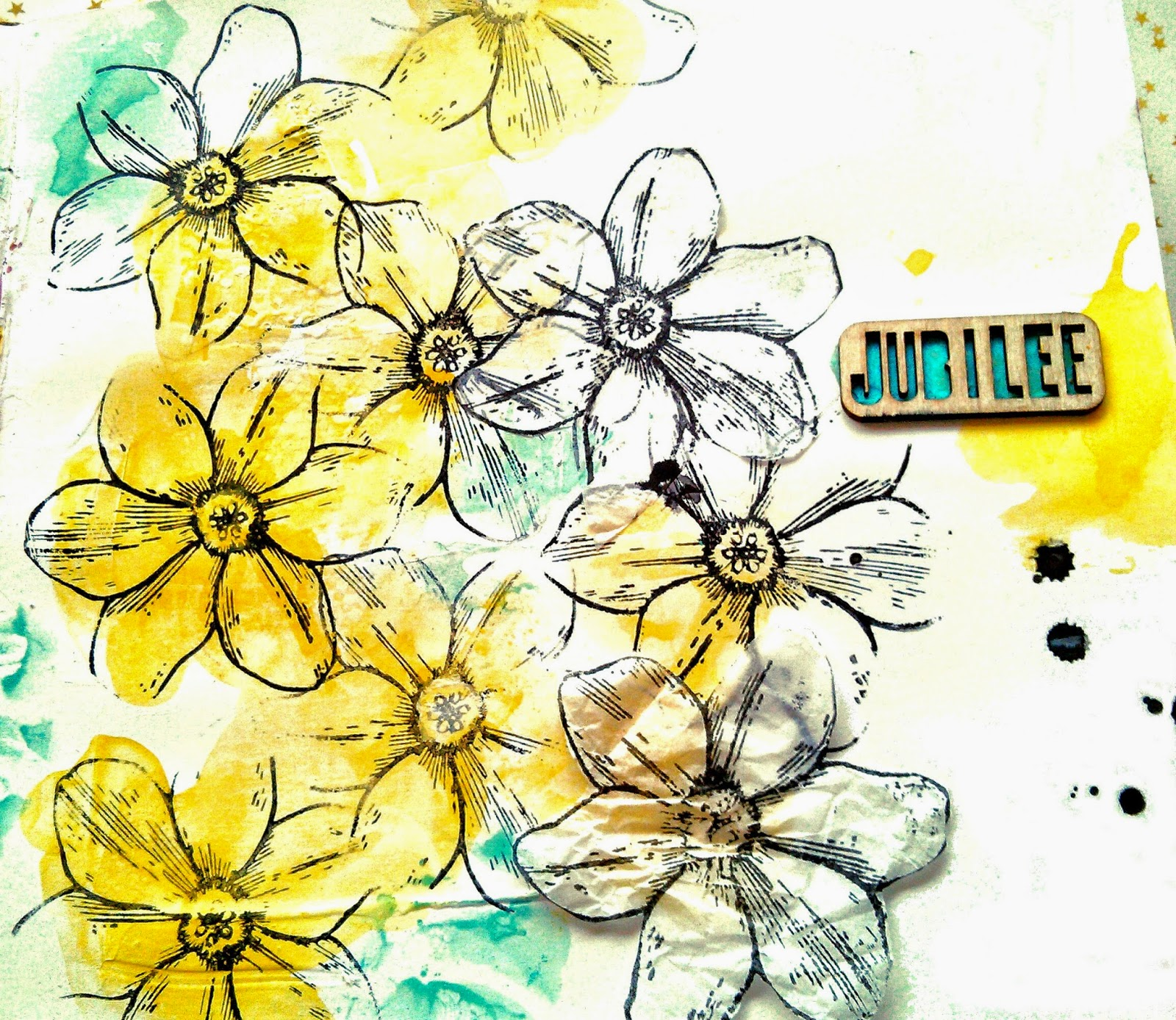 Tutorial Art Journal Gelatos