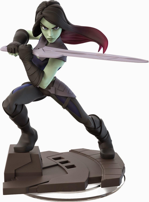 TOYS : JUGUETES - DISNEY Infinity 2.0  Pack Gamora & Star Lord : Muñecos | Figuras MARVEL Super Heroes - Guardianes de la Galaxia  Producto Oficial | Videojuegos | A partir de 7 años  PlayStation 4, Nintendo Wii U, PlayStation 3, Xbox 360, Xbox One  Disney - 19 septiembre 2014