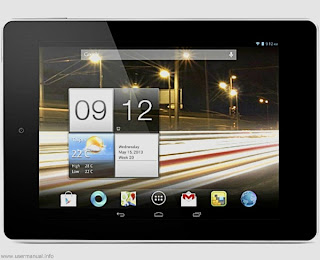 Acer Iconia Tab A1-810 user guide manual
