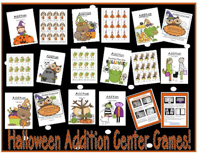 Fern Smith's Nine Halloween Addition Center Games
