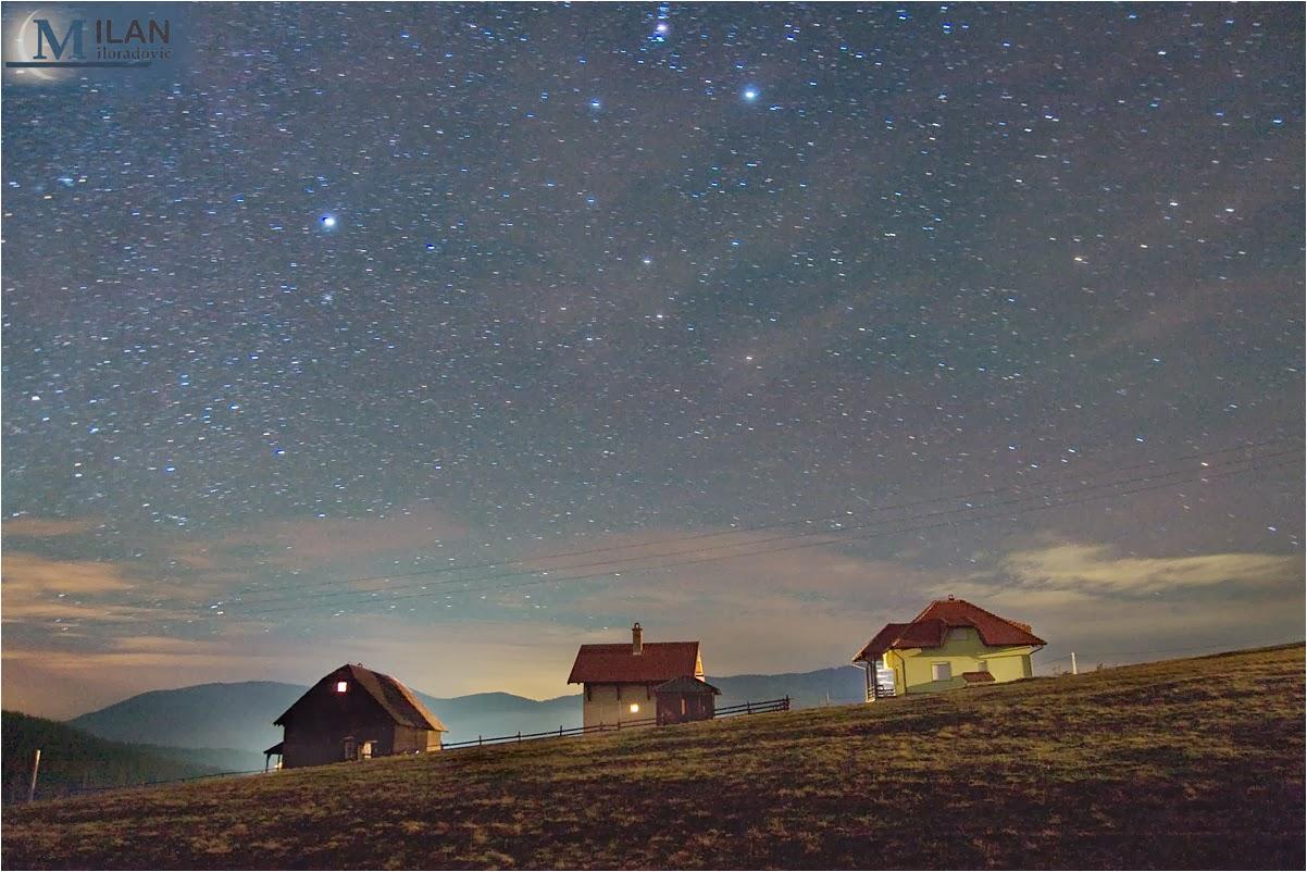 Orion over Zlatibor