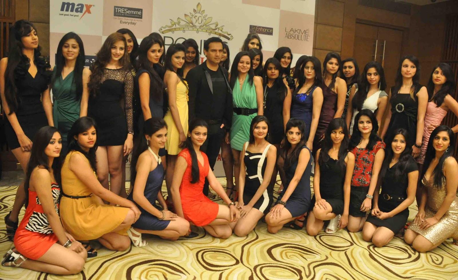 Pond's Femina Miss India 2013 Delegates