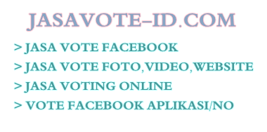 Jasa Vote-Jasa Vote Facebook