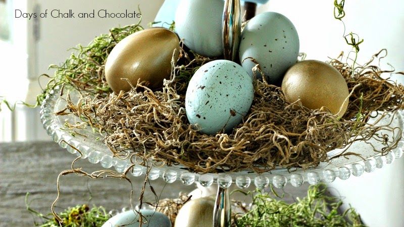diy easter spring decorations centerpiece