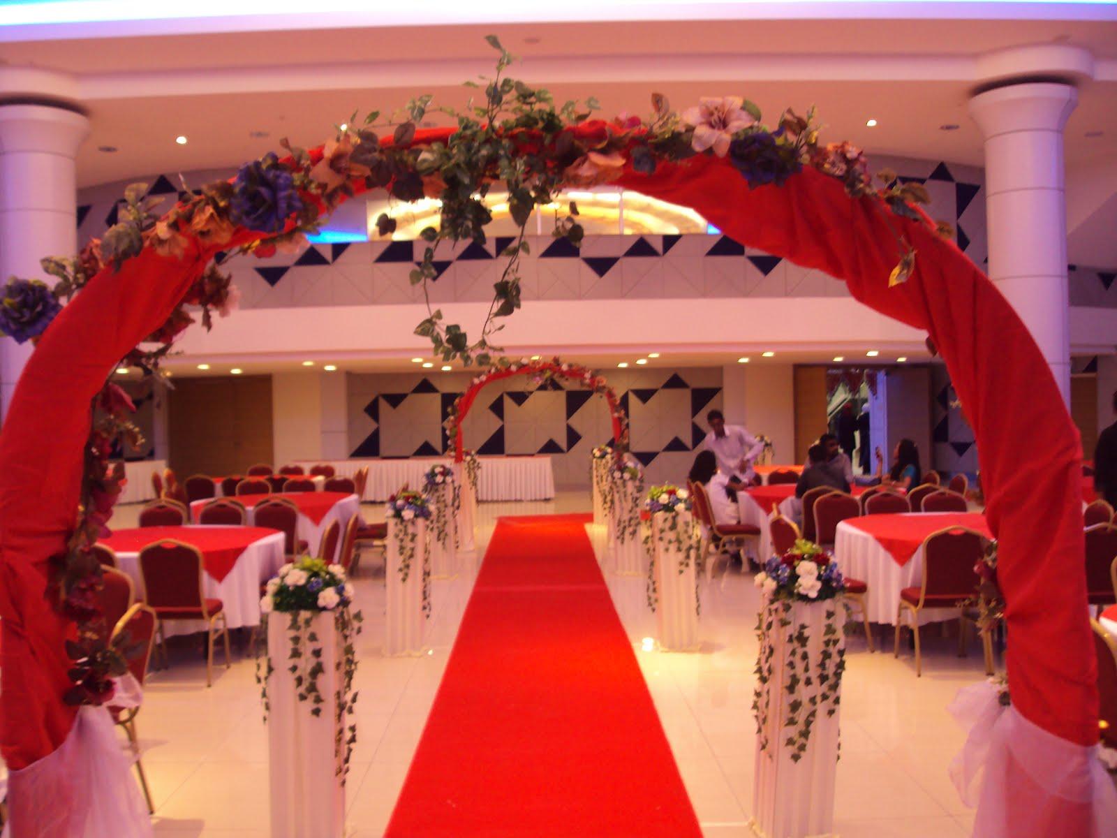 Joy Event Management Services Hall Setting Decorations